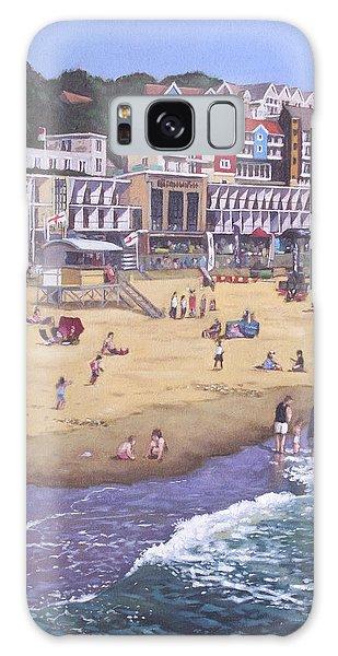 Bournemouth Boscombe Beach Sea Front Galaxy Case