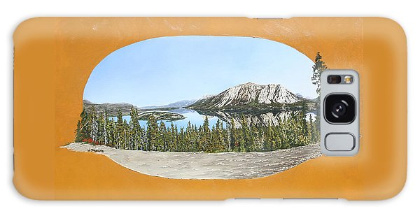Bove Island Alaska Galaxy Case by Wendy Shoults