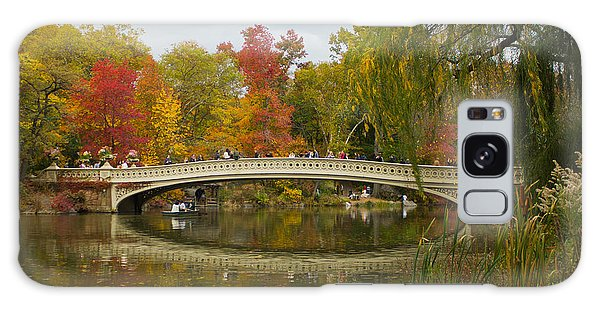 Bow Bridge Central Park Ny Galaxy Case