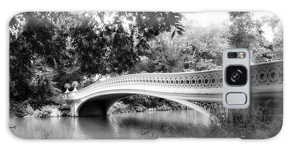Bow Bridge In Black And White Galaxy Case