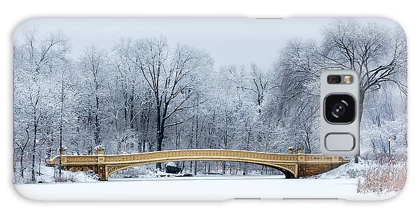 State Park Galaxy Case - Bow Bridge In Central Park Nyc by Mihai Andritoiu