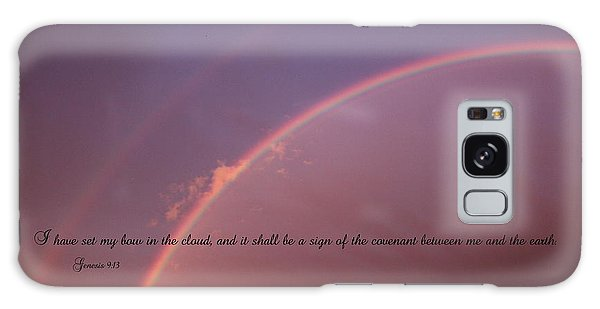 Bow In The Clouds Galaxy Case by Erica Hanel