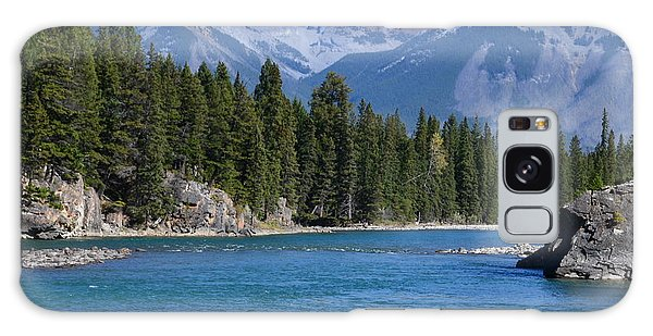 Bow River  Galaxy Case by Cheryl Miller
