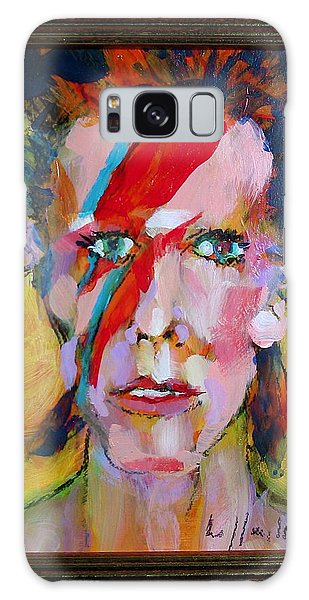 Bowie Galaxy Case by Les Leffingwell