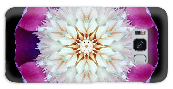 Bowl Of Beauty Peony II Flower Mandala Galaxy Case