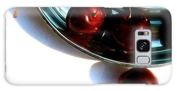 Bowl Of Cherries Galaxy Case