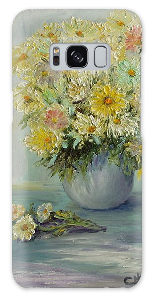 Bowl Of Daisies Galaxy Case