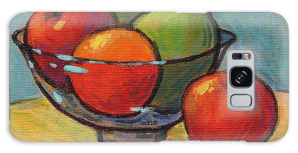 Bowl Of Fruit Galaxy Case