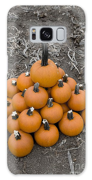 Bowling For Pumpkins Galaxy Case by David Millenheft