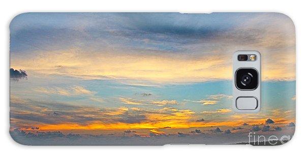 Bowman's Beach Sunset Galaxy Case