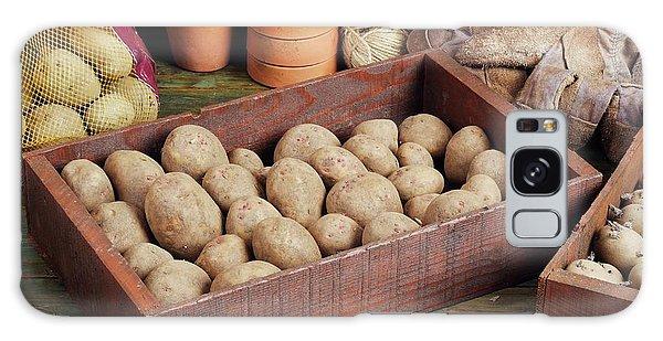 Box Of Potatoes Galaxy Case