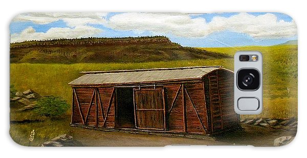 Boxcar On The Plains Galaxy Case by Sheri Keith