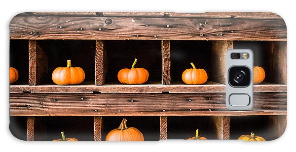 Boxed In Pumpkins Galaxy Case