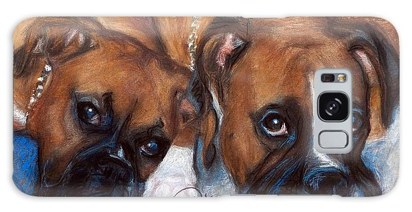 Boxer Buddies Galaxy Case by Sciandra