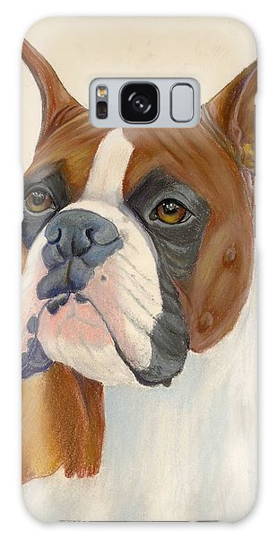 Boxer Dog Galaxy Case by Ruth Seal