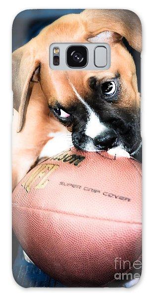 Boxer Puppy Cuteness Galaxy Case