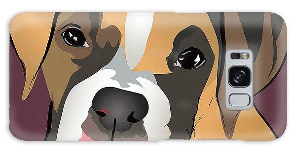 Boxer Puppy Pet Portrait  Galaxy Case