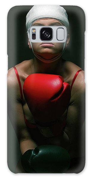 boxing Girl 2 Galaxy Case