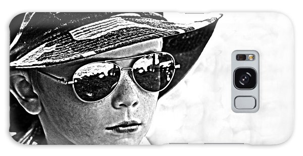 Boy In Aviators Galaxy Case