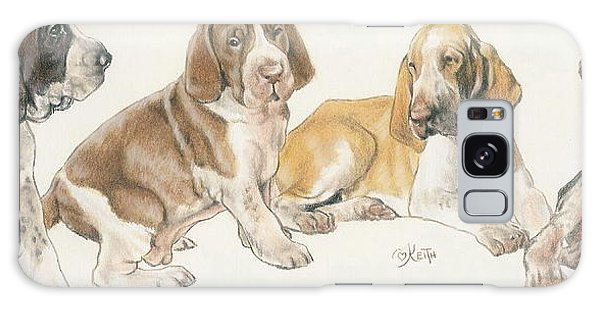 Bracco Italiano Puppies Galaxy Case
