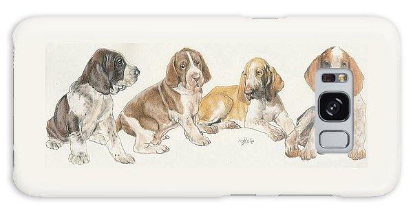 Bracco Italiano Puppies Galaxy Case