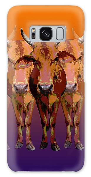 Brahman Cow Galaxy Case