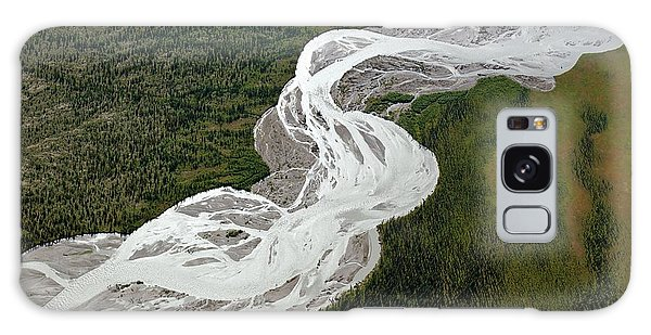 Boreal Forest Galaxy Case - Braided River by Dr Juerg Alean/science Photo Library