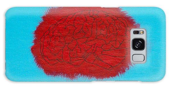 Brain Red Galaxy Case by Stefanie Forck