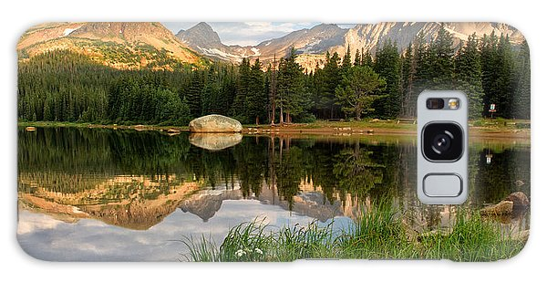Brainard Lake Reflections Galaxy Case