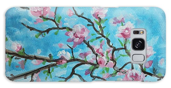 Branches In Bloom Galaxy Case