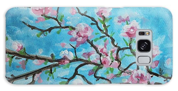 Branches In Bloom Galaxy Case by Elizabeth Robinette Tyndall