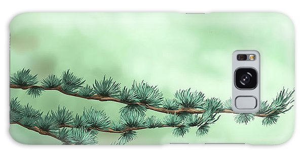Pine Branch Galaxy Case - Branches by Veronica Minozzi