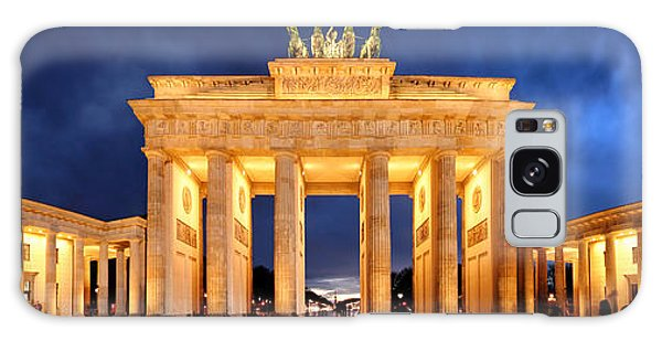 Brandenburg Gate Berlin Panorama Galaxy Case