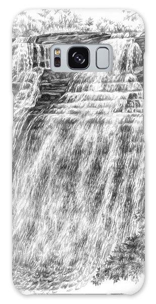 Brandywine Falls - Cuyahoga Valley National Park Galaxy Case by Kelli Swan