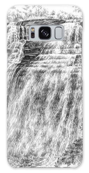 Brandywine Falls - Cuyahoga Valley National Park Galaxy Case