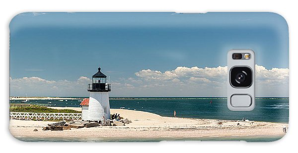 Brant Point Light Nantucket Galaxy Case