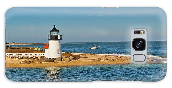 Brant Point Lighthouse Nantucket Galaxy Case by Marianne Campolongo