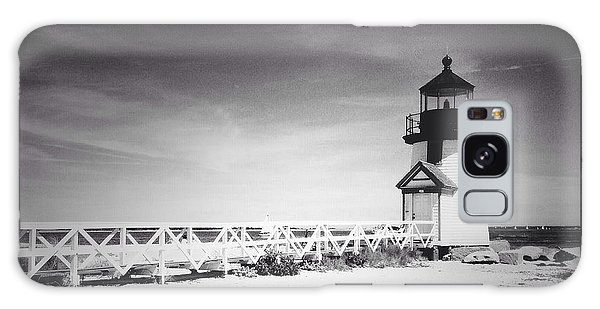 Brant Point Lighthouse Galaxy Case