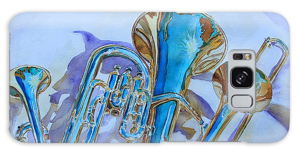 Trombone Galaxy S8 Case - Brass Candy Trio by Jenny Armitage