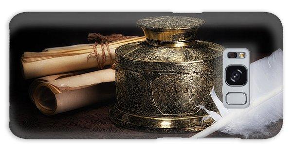 Brass Inkwell Still Life Galaxy Case