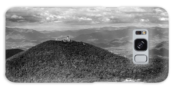 Brasstown Bald In Black And White Galaxy Case