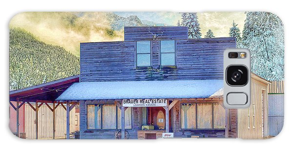 Brauer Real Estate Linwood Kansas Galaxy Case by Liane Wright