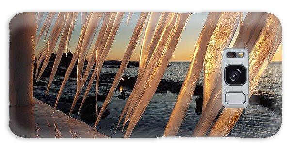 Break Wall Winter Sunrise Galaxy Case