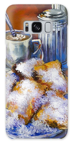 Breakfast At Cafe Du Monde Galaxy Case by Dianne Parks