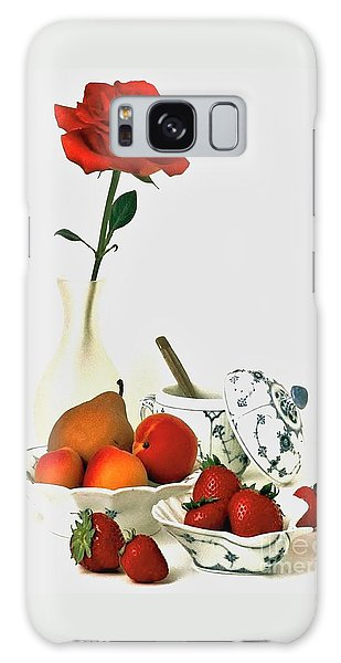 Breakfast For Lovers Galaxy Case by Elf Evans