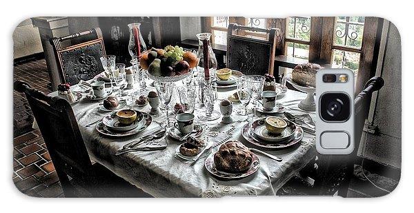 Downton Abbey Breakfast Galaxy Case by The Art of Alice Terrill