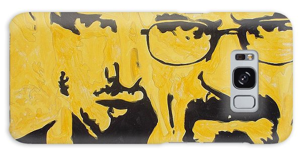 Breaking Bad Yellow Galaxy Case by Marisela Mungia
