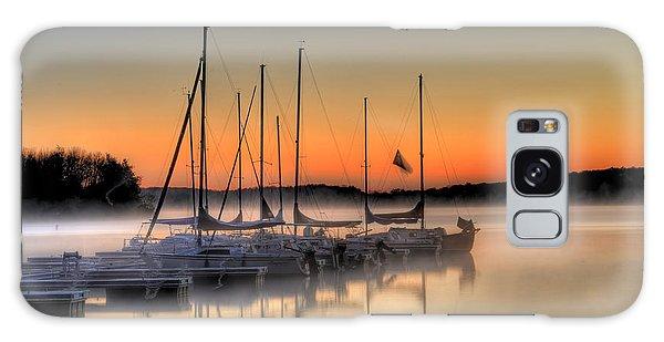 Breaking Dawn Galaxy Case - Breaking Morning At Lake Nockamixon by Bill Cannon