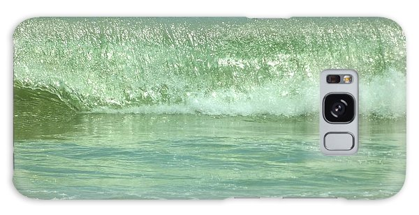 Breaking Wave Calm  Galaxy Case by John Wartman