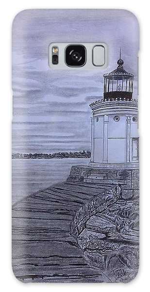 Breakwater Bug Lighthouse Galaxy Case
